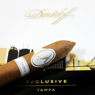 Exclusive Davidoff Tampa Limited Edition cigars.