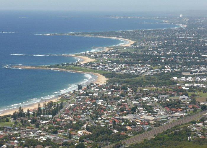 great views along Wollongong coast