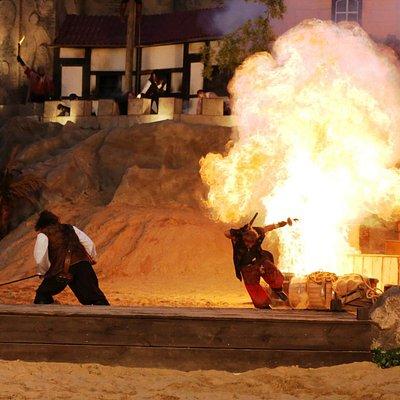 Action, Stunts und Explosionen