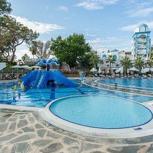 The Pool at the Rubi Platinum Spa Resort & Suites