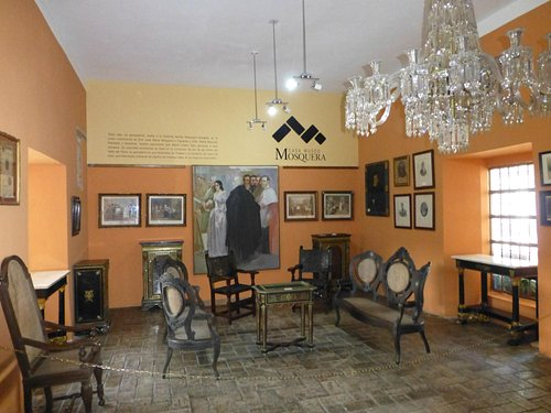 The first room of the museum