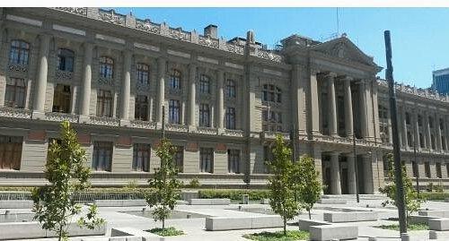 Fachada do Palácio da Justiça