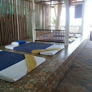 1 massage on Klong Dao Beach and 1 near Saladan opposite Tesco Lotus