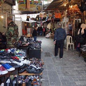 A wider lane in Saida Souk