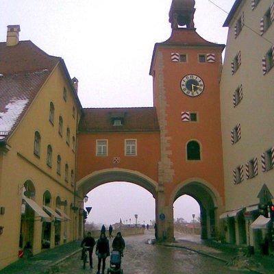 Bruckturm and gate