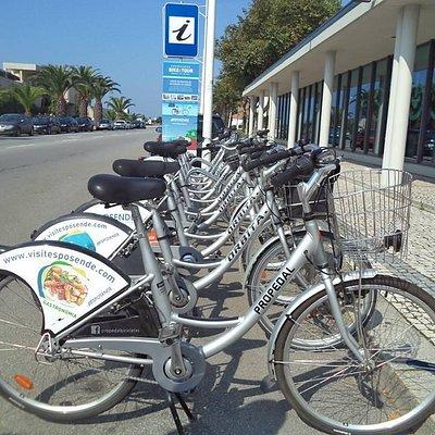 Exemplo de bicicleta citadina disponível