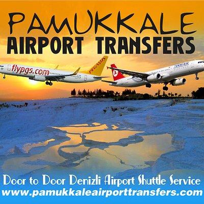 Denizli airport to Pamukkale airport transfers