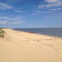 A fantastic sandy beach