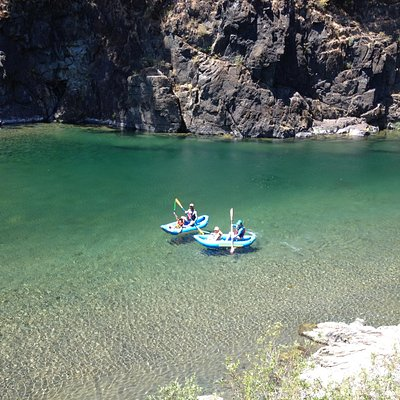 The Smith River mesmerizes visitors with its exceptional clarity and jade hues.