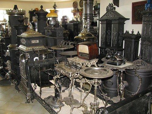 Antique stove exhibition