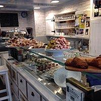 Bester Cafe und hausgemachte italienische Desserts