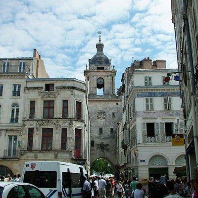 La Rochelle - Rue du Palais.
