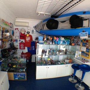 Evolution Shop inside