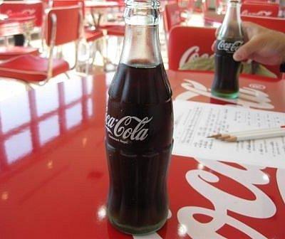 試飲のコーラ