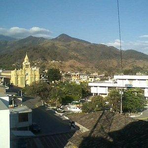 Ausblick auf Macara - der ecuadorianischen Grenzstadt