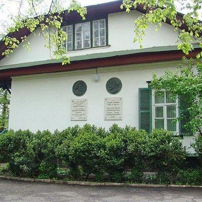 Зелёный домик-музей в г.Каменка