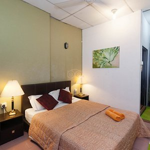 The Ensuite Double Room at the Roof Top Guest House Melaka