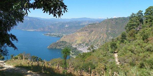 View From Santa Catarina Hike