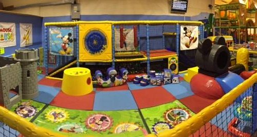 our under 5's area