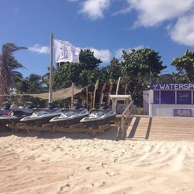 Palm Beach Watersports : pour une belle sortie en jetski ! Tel Mathias +590 690 44 1500