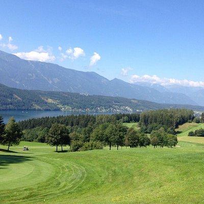 Toller Golfplatz mit super Aussicht
