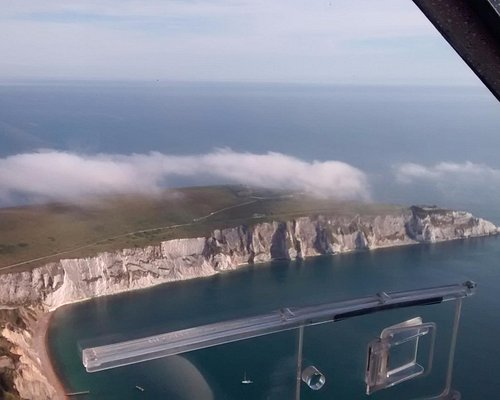 Coming up to the Needles