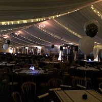 Great WFAC Family Zone Marquee for Parties and Matchday