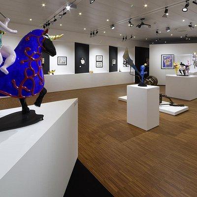 Artrust - Mostra Niki de Saint Phalle, Jean Tinguely