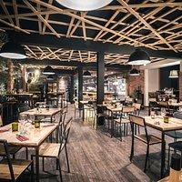 salle du restaurant-pizzeria ALTA