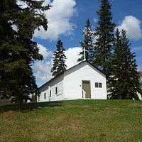The oldest building in Alberta.