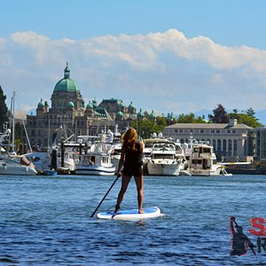 Experience the Victoria inner harbour.