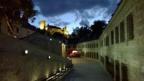 Casa Moneda nocturna