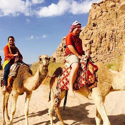 Camel Ride In Rum Valley
