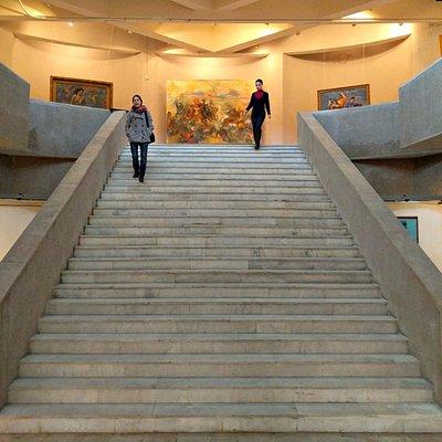 big staircase in Eduard Isabekyan Gallery