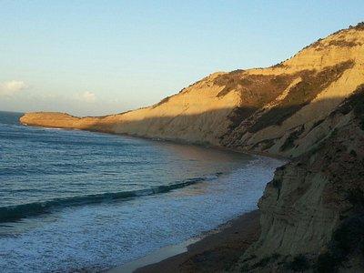 El Morro de Montecristi, right side of the beach at El Morro