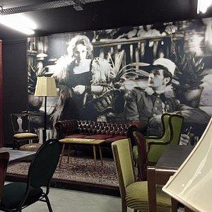 Muurdecoratie Theatercafé