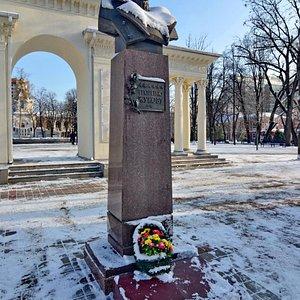 Памятник Г.К. Жукову в сквере им. Жукова, Краснодар