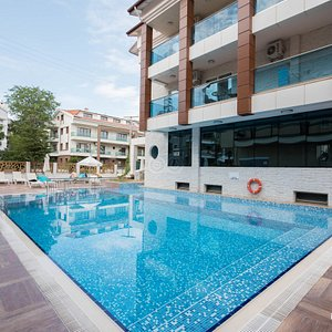 The Pool at the Supreme Hotel Marmaris