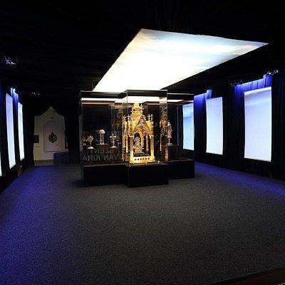A múzeum kiállítása
