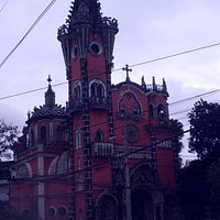 Baroque-Gothic private church