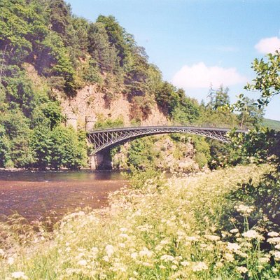 Telford bridge is one of the most photographed and admired in the country