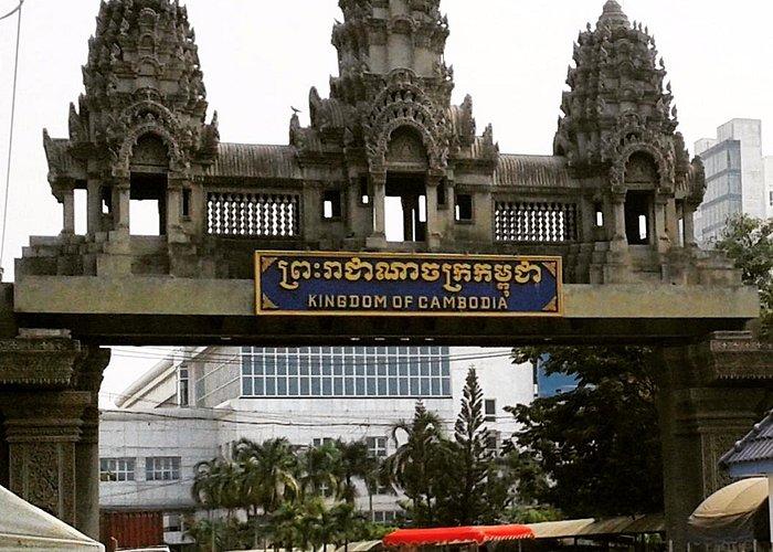Frontière Thaïlande/Cambodge