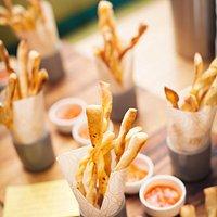 Fiery Bread Sticks