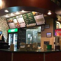 Entrance view & menu