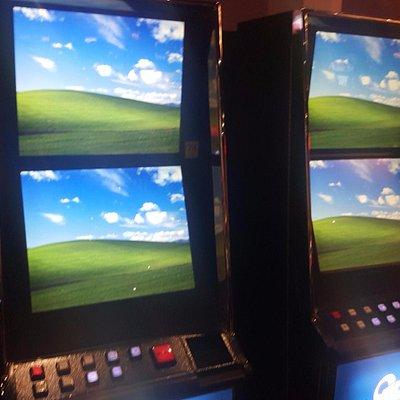 Broken Slot Machines