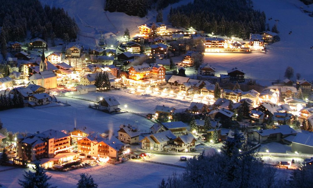 San Vigilio by night in winter