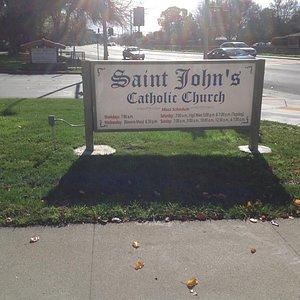 Church board.