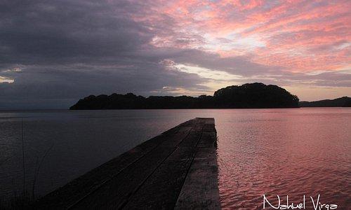 Atardecer en el Archipielago de Solentiname, Nicaragua