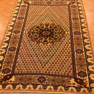 Handmade tribal carpet