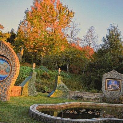 Eco shrine in the Hogsback
